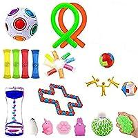 N/W 減圧 おもちゃ 感覚のおもちゃセット、子供と大人のフィジェットおもちゃ、ストレスや不安を和らげるフィジェットおもちゃ、誕生日パーティーのための特別なおもちゃセット(オプションパッケージ) adaptable