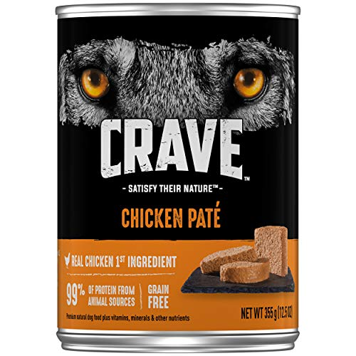 CRAVE High Protein Grain Free Paté Adult Wet Dog Food