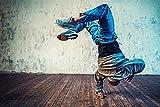 Breakdance Tanzen HipHop XXL Wandbild Kunstdruck Foto