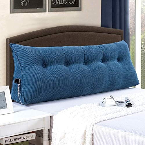 MKOIJN Triangular Wedge Pillow Triangle Wedge Cushion Back Positioning Support Cushion Bedside Reading Upholstered Triangle Wedge Tatami Sofa Bed Office Rest Cushion