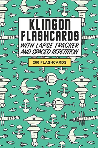 Klingon Flashcards: Create your own Klingon Flashcards. Learn the Klingon language with Active Recall, based on the hit Sci-fi series Star Trek - ... Repetition and Lapse tracker (200 cards)