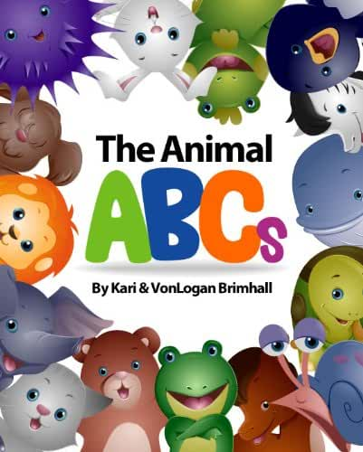 The Animal ABCs (English Edition)