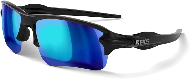 REKS Polarized Unbreakable SLING-BLADE Sunglasses