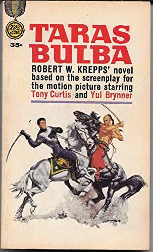 Taras Bulba Novelization Tony Curtis Yul Brynner Christine Kaufmann 1st Print 62