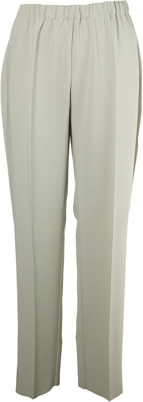 Marina Rinaldi Women's Rapsodia Elastic Waist Trousers, Beige