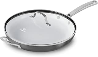Calphalon 1937375 Classic Ceramic Nonstick Omelet Fry Pan with Cover, 12