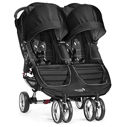 BABY JOGGER Bj-12410 City Mini Double, schwarz