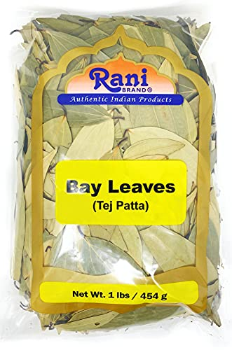 Rani Bay Whole Leaf (Leaves) Spice Hand Selected Extra Large 16oz (454g) 1lb Bulk Pack All Natural ~...