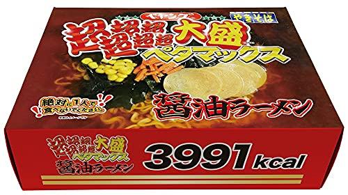 ペヤング ペタマックス醤油ラーメン 892g×4個
