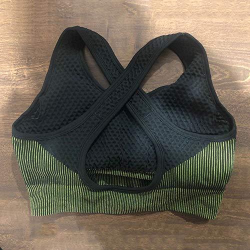 Set da Yoga Sport Femminile Tuta da Palestra Abbigliamento da Corsa Abbigliamento da Donna Senza Cuciture Fitness Sport Leggings Manica Lunga Abbigliamento Yoga Reggiseno,S-A