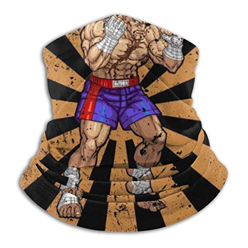 JARVBY Multifunktionstuch | Schlauchtuch Street Fighter Sagat Retro Japanese Warmer Neck Gaiter Windproof Mouth Face Ma-sk Magic Scarf Bandana Balaclava