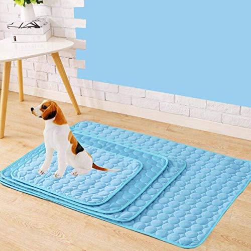 Pet Cooling Mat Pad Bett Halten Sie Ihr Haustier Im Sommer Kühl Keine Elektrizität Erforderlich