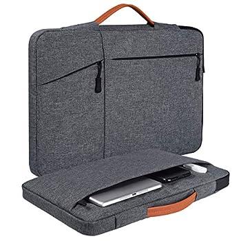 15.6 Inch Laptop Briefcase Case for Lenovo IdeaPad 15.6/Lenovo Yoga 730 15.6 Acer Aspire 5/Nitro 5/Acer Predator Helios 300 HP Pavilion x360/Envy 15.6 Dell Inspiron 15 Notebook Bag Space Grey