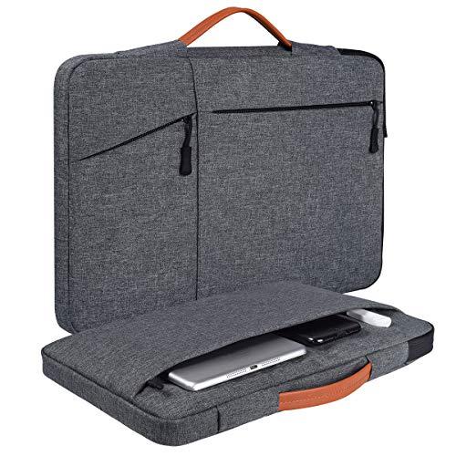 "15.6 Inch Laptop Briefcase Case for Lenovo Yoga 730/C940/C740 15.6, Acer Aspire 5/Nitro 5, HP Pavilion x360 15.6"", Acer Predator Helios 300/Dell Inspiron 15 Notebook Bag(Space Grey)"