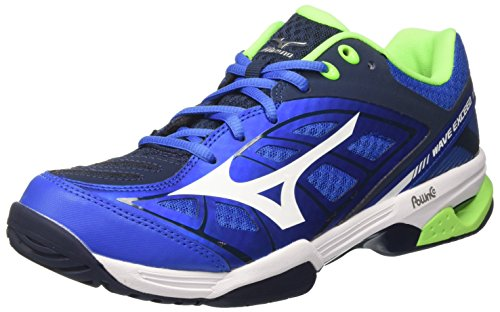 Mizuno Wave Exceed AC, Zapatillas de Tenis para Hombre, (StrongBlue/White/DressBlues 01), 43 EU