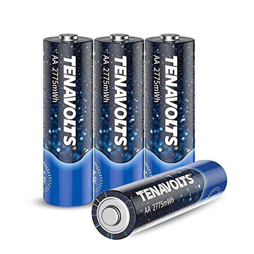 TENAVOLTS First Generation Rechargeable Lithium/Li-ion Batteries, AA Rechargeable Batteries,USB Charger Included, Constant Output at 1.5V,Quick Charge,2775 mWh Electrical core Power- 4Count…