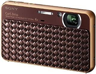 索尼 Sony 数码相机 Cybershot T99D ( 1200万像素 CCD / 光学 x4/ 数码 X8) 褐色 DSC-HX T99D / T