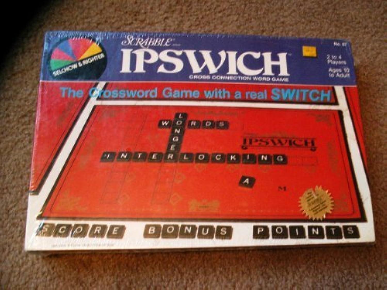 excelentes precios SCRABBLE Ipswitch Board Board Board Juego - A Cross Connection Word Juego by  80% de descuento
