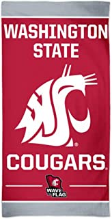 WinCraft Washington State Cougars Towel with Spectra Premium Graphics 30x60 inches