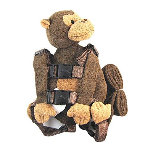 Ceinture de sécurité harnais bébé enfant Toddler Walking Cosplay sac à dos sac à dos singe