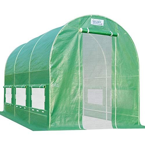 Quictent 12' X 7' X 7' Portable Greenhouse Large Walk-in Green Garden...