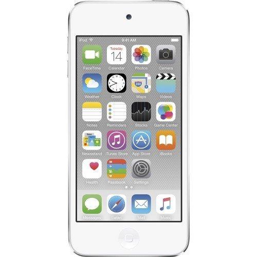Apple iPod Touch 32GB Silver (6th Generation) MKHX2LL/A (Renewed)
