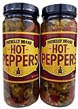 Potbelly Sandwich Shop Brand Hot Peppers 16 Oz (2 Jars)