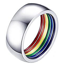Unleash Your Inner Unicorn with these Fab Gay Pride Rings