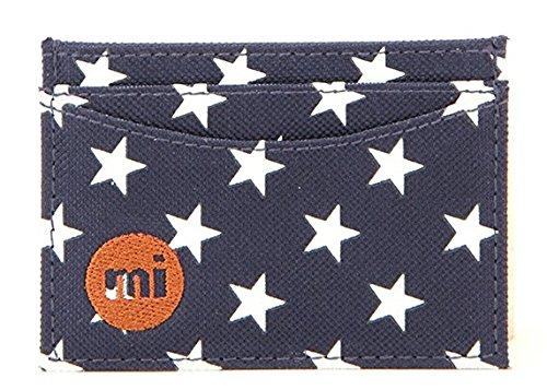 Mi-Pac Card & Key Ring Gift Tarjetero, 12 cm, litros, All Stars Navy