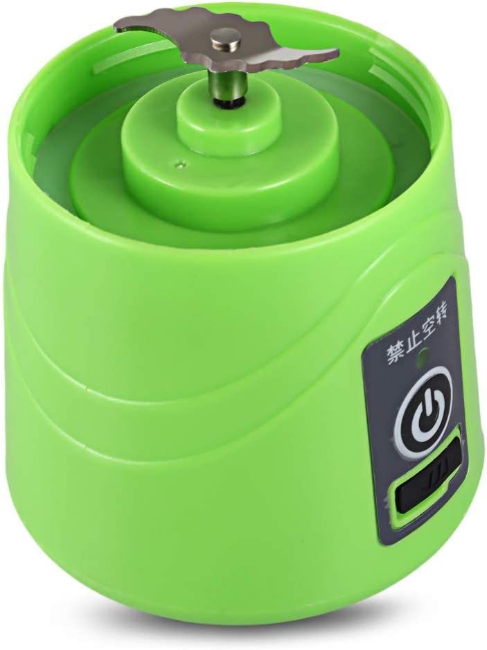 N/ A Exprimidor Exprimidor Portátil Multiuso Licuadora Máquina USB de Carga Doméstica 380Ml para Batidos y Batidos Green