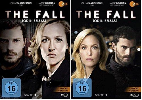 The Fall - Tod in Belfast - Staffel 1+2 [DVD Set]