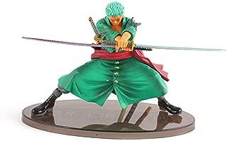 ALTcompluser Anime One Piece Roronoa Zoro Figurine en PVC Decisive Battle Statue Figurine de collection Cadeau idéal