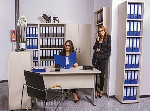 Dila GmbH Komplettbüro Ahorn Büromöbel Büroeinrichtung Standregal Aktenschrank Schreibtisch