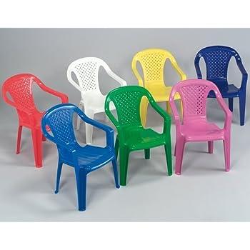 Sedie Colorate Fai Da Te.Sedia Con Braccioli In Resina Colorata Per Bambini Colori