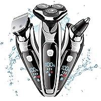 Hatteker 3 in 1 Mens Electric Shaver Razor