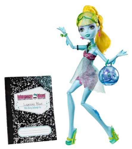 Monster High 13 Wishes Lagoona Blue Daughter Of The Sea Monster Englische Version