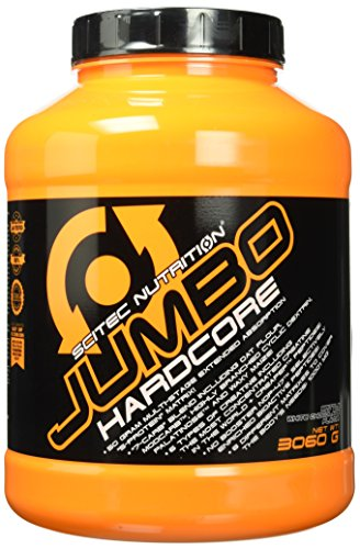 Scitec Nutritiongainer Jumbo Hardcore,gesüßte weisse Schoko, 3060g
