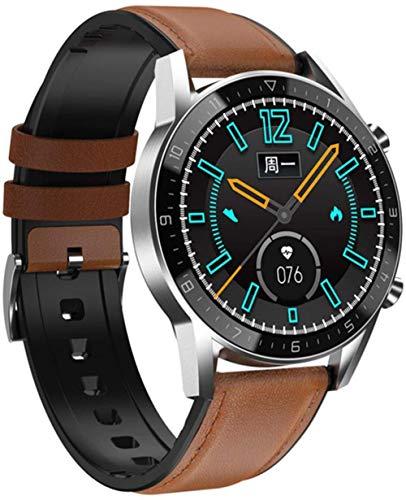 DT92 reloj inteligente hombres s Bluetooth llamadas IP68 impermeable frecuencia cardíaca presión arterial larga espera deportes mujeres smartwatch-D