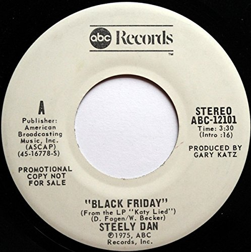 "BLACK FRIDAY (PROMO) (45/7"")"