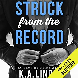 Struck from the Record audiobook cover art