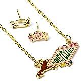 Juego oficial de collar y pendientes de Harry Potter Honeydukes de The Carat Shop