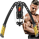 EAST MOUNT Twister Arm Exerciser - Adjustable 22-440lbs Hydraulic Power, Home Chest Expander,...