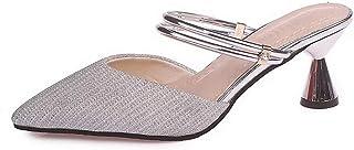 BalaMasa Womens AFL00301 Pu Heeled Sandals