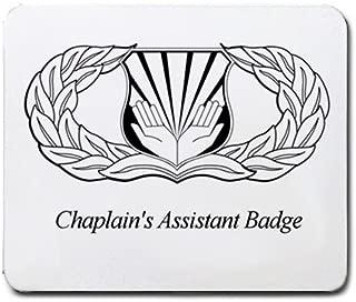 Chaplain's Assistant Badge Mouse Pad