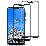 DOSNTO Bildschirmschutzfolien Kompatibel mit Motorola Moto G7 Power [2 Stück] 3D Panzerglasfolie Durable Anti-Kratzer High Sensitive Blasenfreie Starke Klebefolie Blendschutz Panzerglas