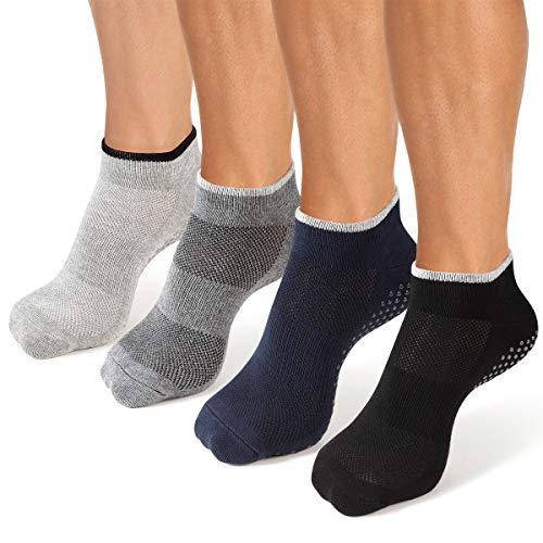 Cooque - Calcetines de yoga antideslizantes para hombre y mujer -  -  talla única