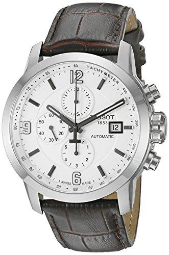 Tissot Swiss Quartz Brown Leather Watch
