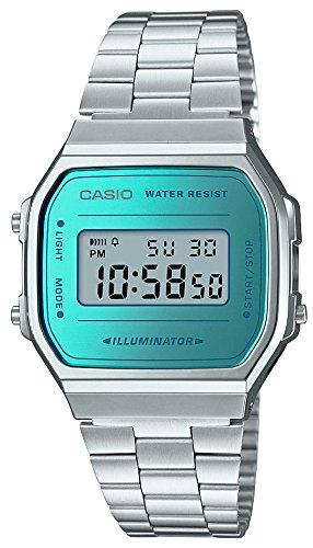 [カシオ] 腕時計 スタンダード A168WEM-2JF シルバー