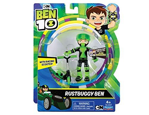 Ben 10 BEN39810 Action Figures-Rustbuggy Ben, Nylon/A