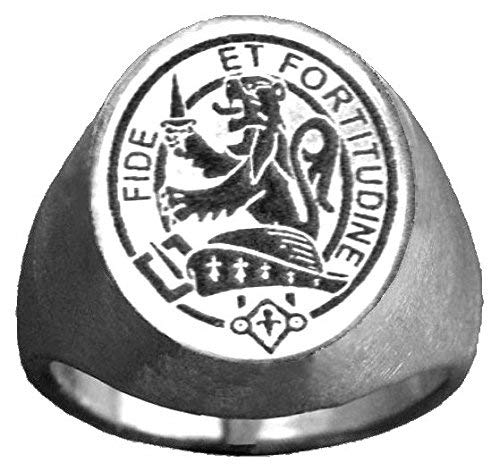 Scottish Clan Crest Ring GC500 Style ~ All clans